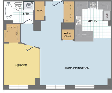 1-Bedroom-Huron