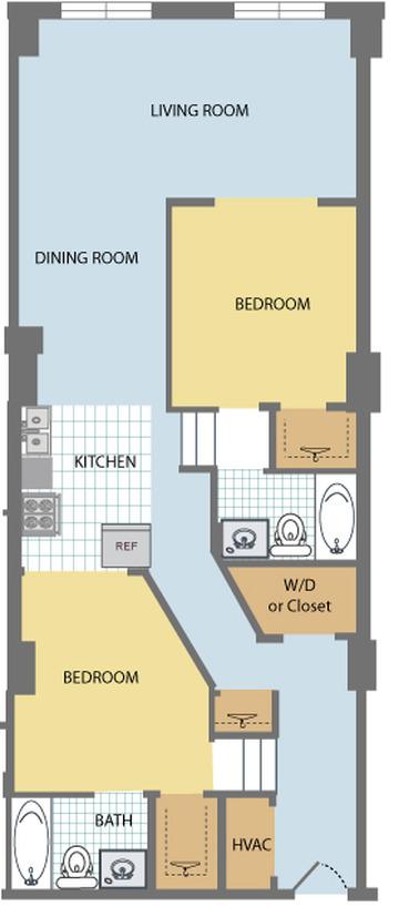 Floor Plans Huron Square Amp The Osborn Apartments